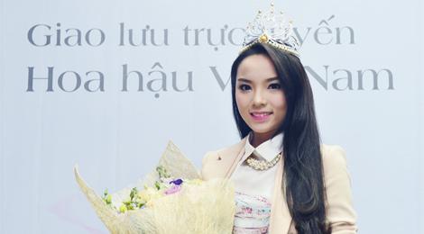 Giao lưu trực tuyến Hoa hậu Việt Nam 2014