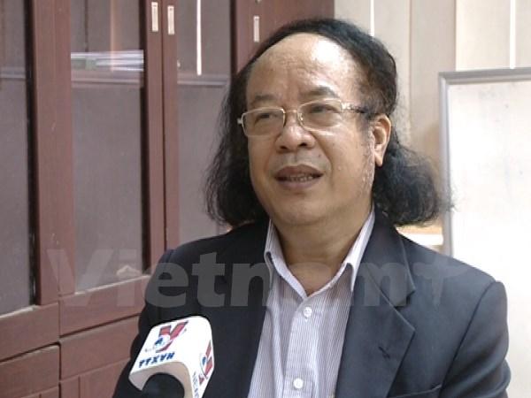Phó giáo sư Đỗ Ngọc Thống trả lời phỏng vấn Thông tấn xã Việt Nam. (Ảnh: PM/Vietnam )