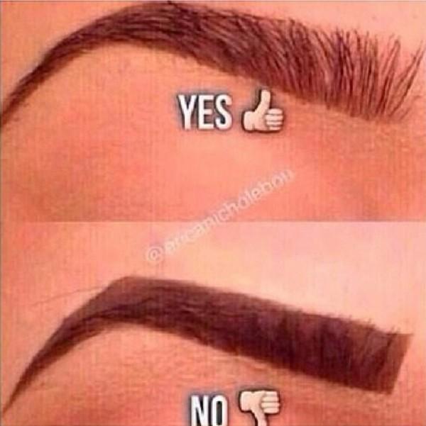 Những lỗi tạo dáng phổ biến khiến lông mày trông xấu tệ 6