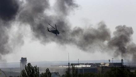 Chiến sự ở Đông Ukraine ngày càng leo thang.