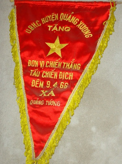 Danh hiệu mà đội của ông nhận được sau thắng lợi đó