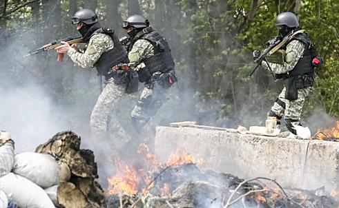Biên giới Nga-Ukraine mịt mù khói lửa