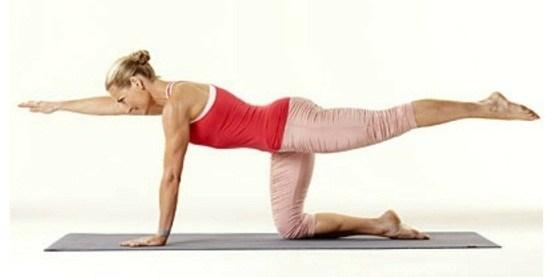 động tác giảm đau thắt lưng