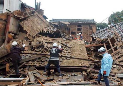 Nhật Bản từng nhiều lần hứng chịu sóng thần. Ảnh: AP