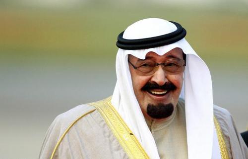 Nhà vuaAbdullah vừa qua đời. Ảnh: Reuters