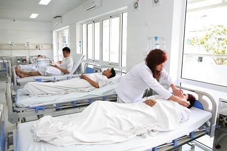Đề án Giảm tải bệnh viện đã được triển khai có hiệu quả tại Bệnh viện Việt Đức  Ảnh: Trần Minh