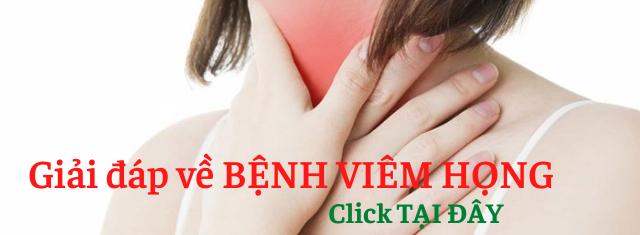 Giải đáp về Bệnh viêm họng