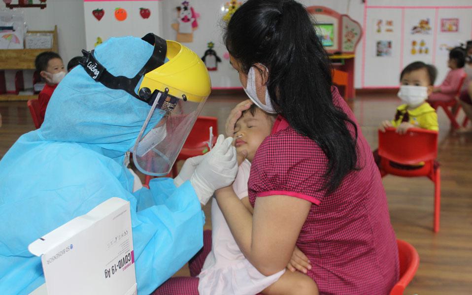 Chùm ca mắc COVID-19 chưa rõ nguồn lây ở Bắc Ninh tăng lên 10 ca, trong đó có 6 trẻ mầm non