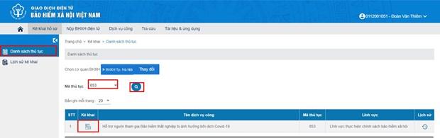 Cần biết: 2 cách đăng ký trực tuyến nhận hỗ trợ bảo hiểm thất nghiệp  - Ảnh 6.
