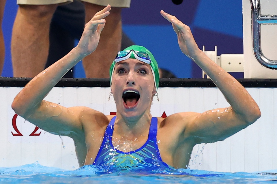Olympic Tokyo 2020  Kỷ lục liên tiếp bị phá trên làn đua xanh - Ảnh 3.