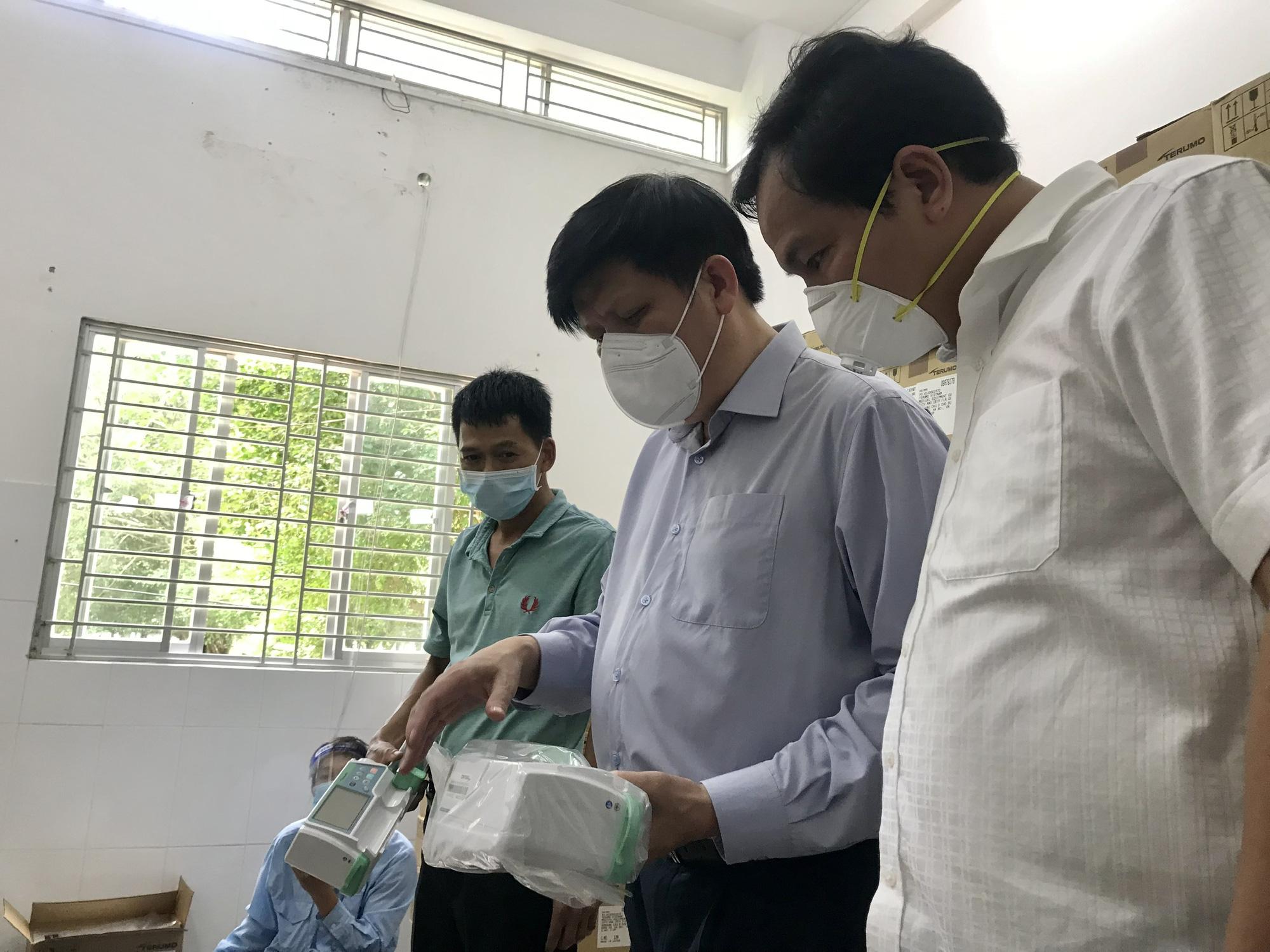 Bộ trưởng Bộ Y tế: Sẵn sàng đưa vào hoạt động Trung tâm hồi sức tích cực vùng 500 giường tại Cần Thơ - Ảnh 7.