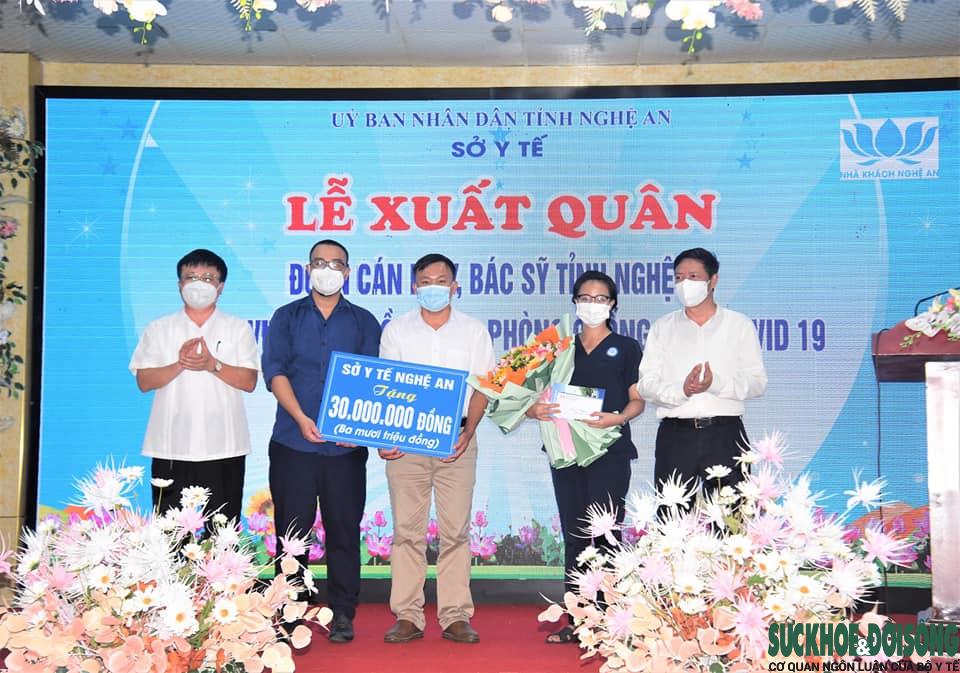 Nghệ An: Tiếp tục cử 30 cán bộ y, bác sĩ hỗ trợ tỉnh Đồng Nai chống dịch COVID-19  - Ảnh 3.