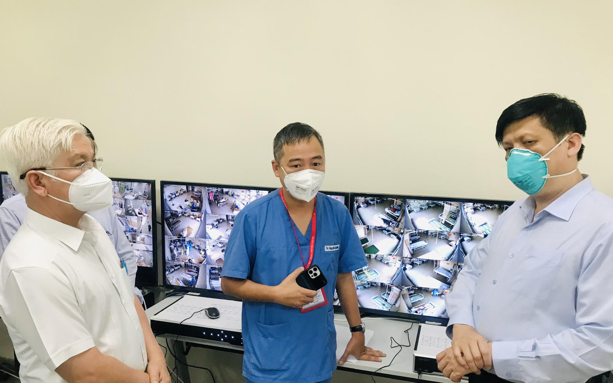 Bộ trưởng Nguyễn Thanh Long: Bộ Y tế sẽ tiếp tục hỗ trợ thuốc, nhân lực, vaccine để Bình Dương chống dịch