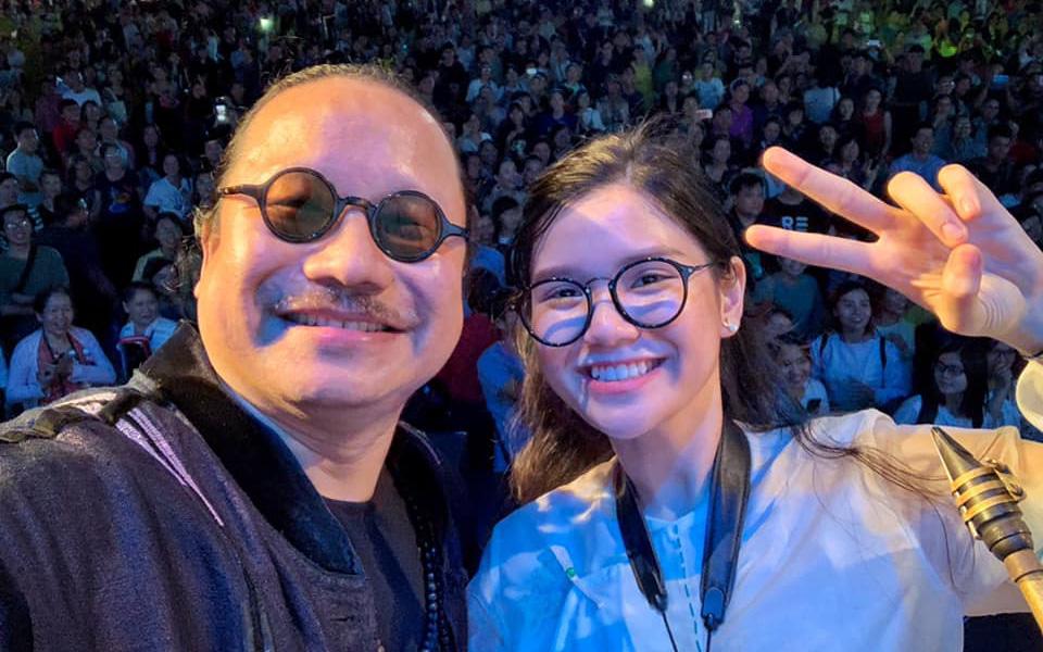 Ái nữ nghệ sĩ saxophone Trần Mạnh Tuấn: 'Cảm ơn các y bác sĩ đang chăm sóc cho ba con'