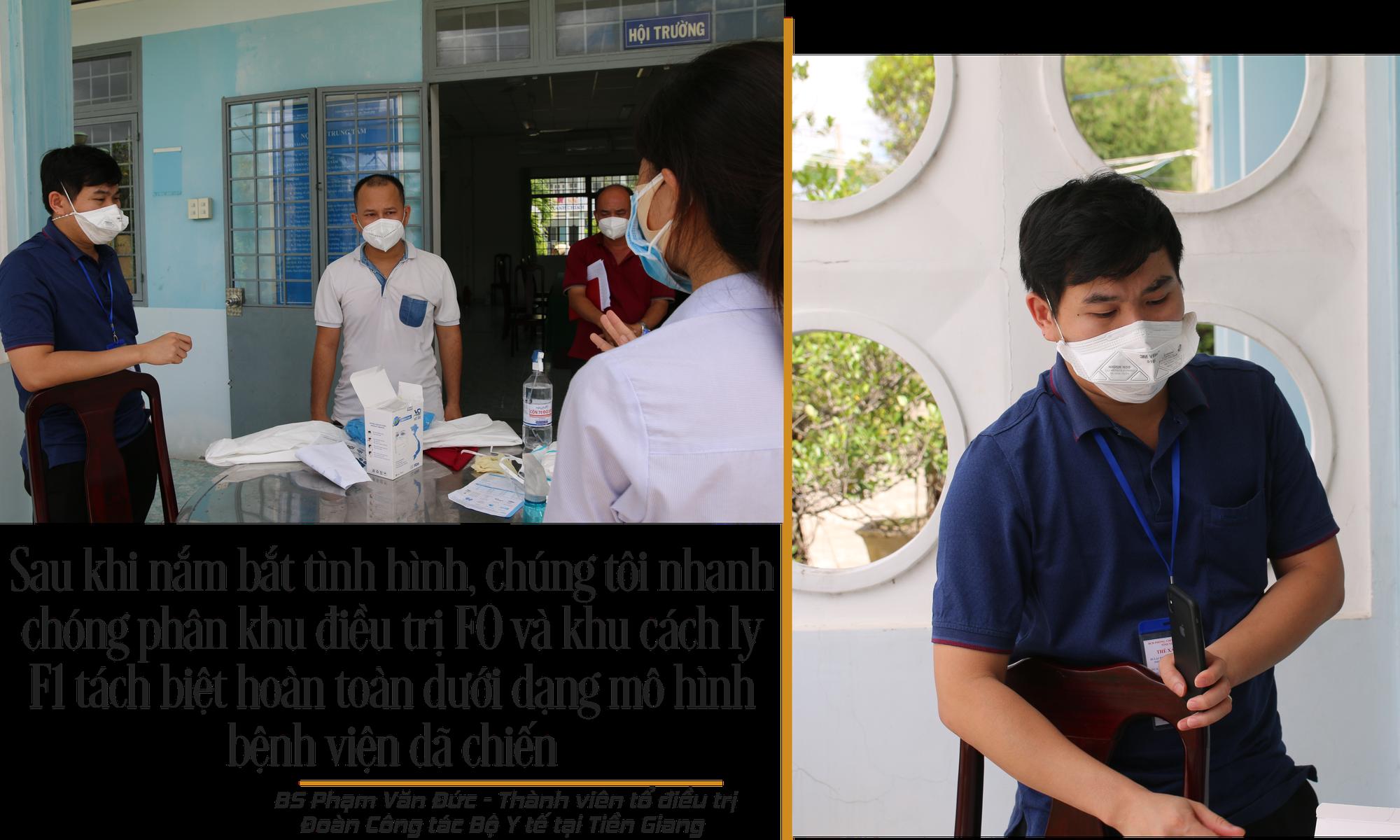 Ở Bệnh viện dã chiến đặc biệt nhất Tiền Giang - Ảnh 8.