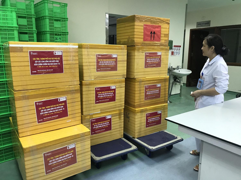 2.000 đơn vị máu sẻ chia cùng miền Nam chống dịch - Ảnh 5.