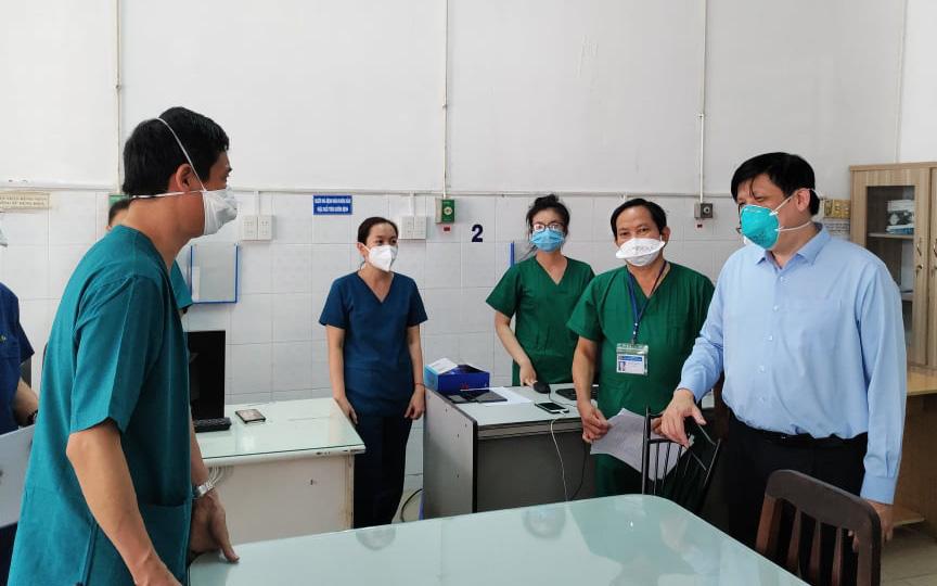 Bộ trưởng Bộ Y tế: Phải sử dụng thuốc sớm, chủ động chuẩn bị đủ oxy cho điều trị người bệnh COVID-19