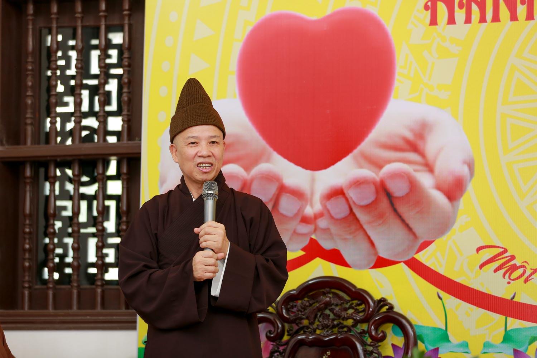 [Ảnh] Tăng ni, Phật tử hiến máu vì miền Nam ruột thịt - Ảnh 1.