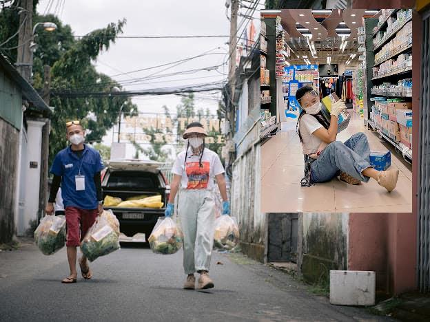 Diễn viên Nam Thư: Hỗ trợ chống dịch mới thấu nỗi vất vả tuyến đầu - Ảnh 3.