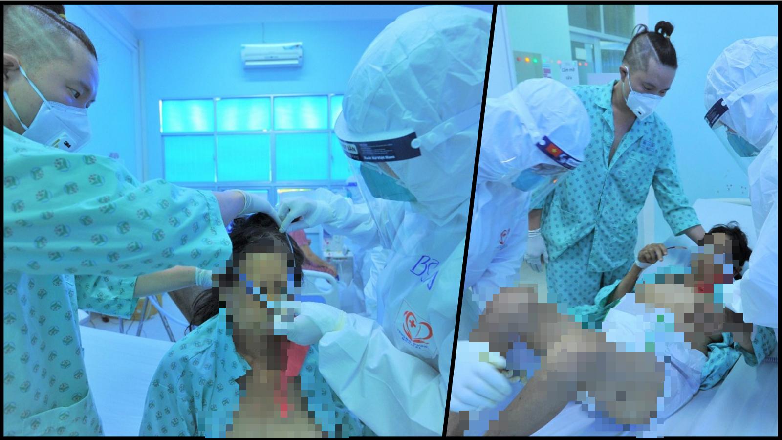 """Bên trong phòng cấp cứu bệnh nhân COVID-19: Từ """"cõi chết"""" trở về  - Ảnh 4."""