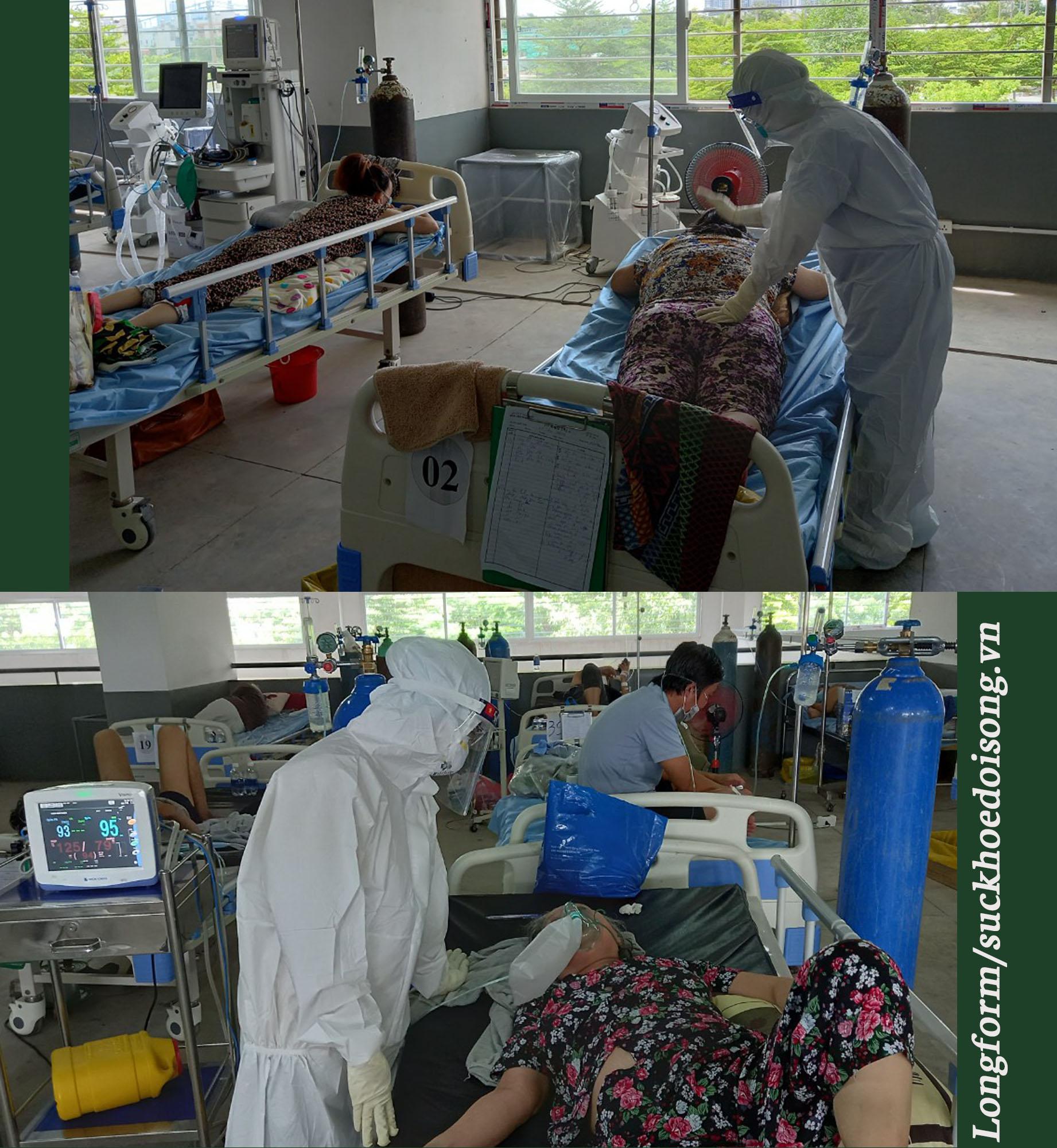 """Bên trong căn phòng cứu bệnh nhân COVID-19: """"Con ruột mình cũng không chăm được như thế…""""  - Ảnh 3."""