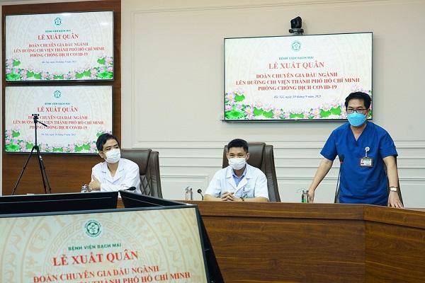 6 chuyên gia đầu ngành của BV Bạch Mai chi viện TP. Hồ Chí Minh chống dịch - Ảnh 3.
