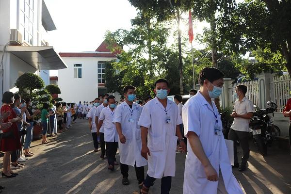 23 cán bộ y tế Điện Biên hỗ trợ Bình Dương chống dịch - Ảnh 3.