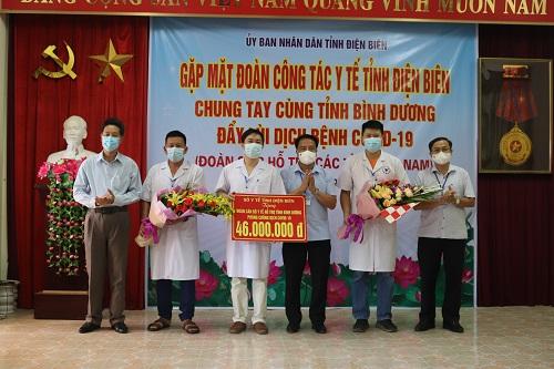 23 cán bộ y tế Điện Biên hỗ trợ Bình Dương chống dịch - Ảnh 2.