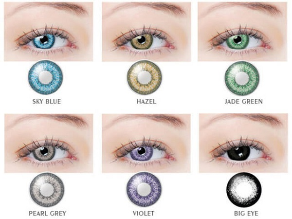 Top 6 điều cần lưu ý khi đeo kính áp tròng tạo màu mắt - Ảnh 1.