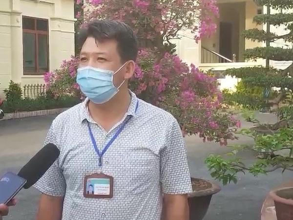 Ông Nguyễn Văn Oánh trả lời phỏng vấn báo SK & ĐS.