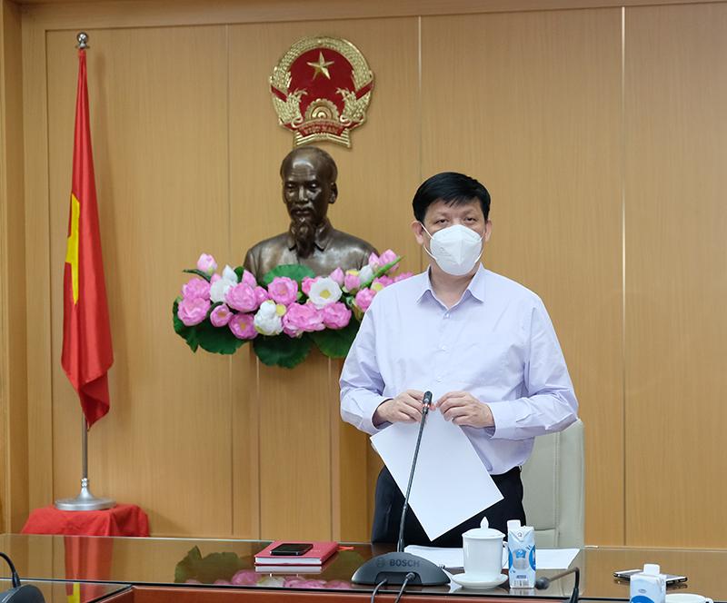 Bộ trưởng Nguyễn Thanh Long: Kết hợp chặt chẽ y tế - quân đội - công an trong thực hiện nhiệm vụ chuyên môn y tế phòng chống dịch COVID-19 - Ảnh 1.