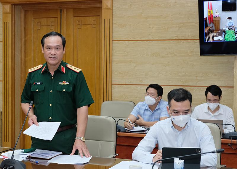 Bộ trưởng Nguyễn Thanh Long: Kết hợp chặt chẽ y tế - quân đội - công an trong thực hiện nhiệm vụ chuyên môn y tế phòng chống dịch COVID-19 - Ảnh 3.
