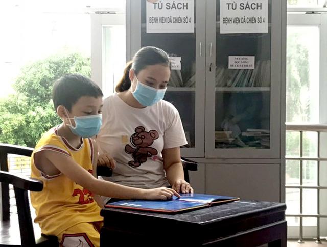 Nhịp sống bên trong Bệnh viện dã chiến số 4 ở Nghệ An - Ảnh 8.