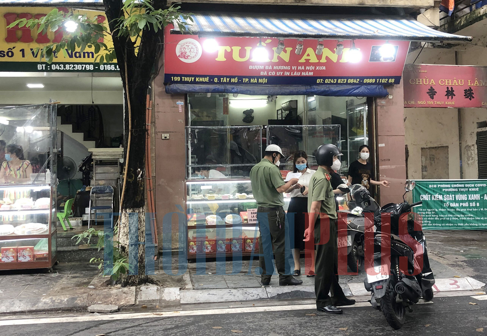 Để khách xếp hàng tấp nập, cửa hàng bánh trung thu Bảo Phương bị đóng cửa - Ảnh 5.