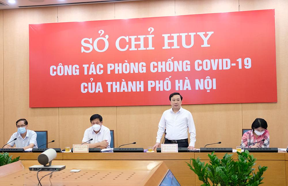 Thứ trưởng Đỗ Xuân Tuyên: Hà Nội phải xác định nhiệm vụ phòng chống dịch là cơ bản và lâu dài - Ảnh 4.