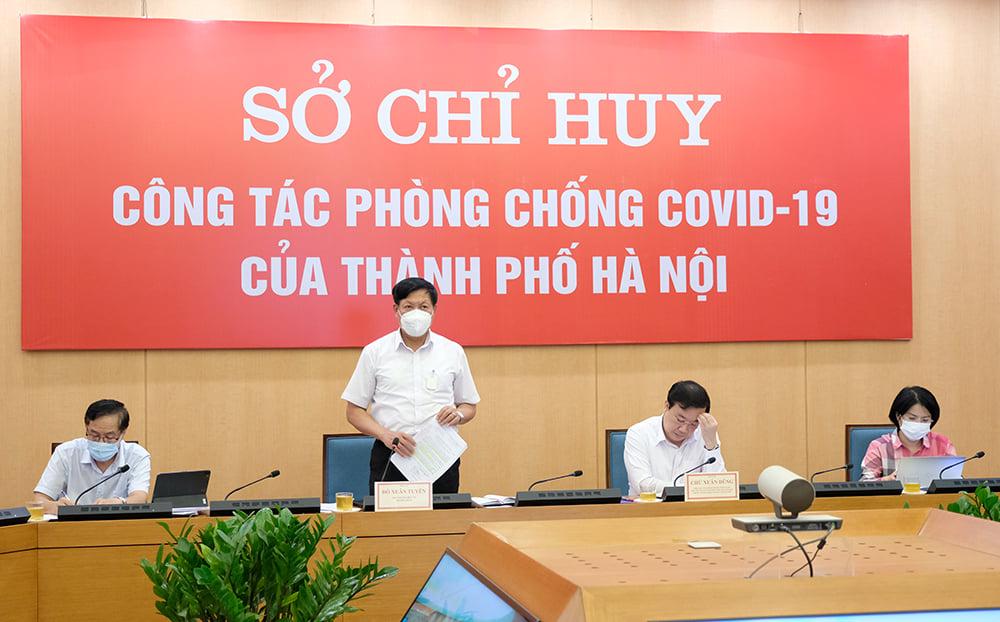 Thứ trưởng Đỗ Xuân Tuyên: Hà Nội phải xác định nhiệm vụ phòng chống dịch là cơ bản và lâu dài - Ảnh 5.