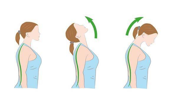 Các động tác giúp giảm đau do thoái hóa cột sống thắt lưng và cổ - Ảnh 2.