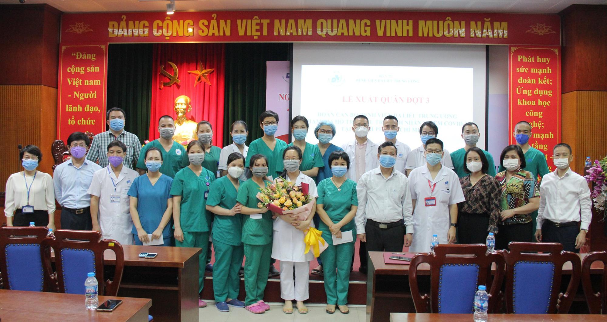 Lần thứ 3, thầy thuốc BV Da liễu Trung ương chi viện miền Nam chống dịch - Ảnh 2.