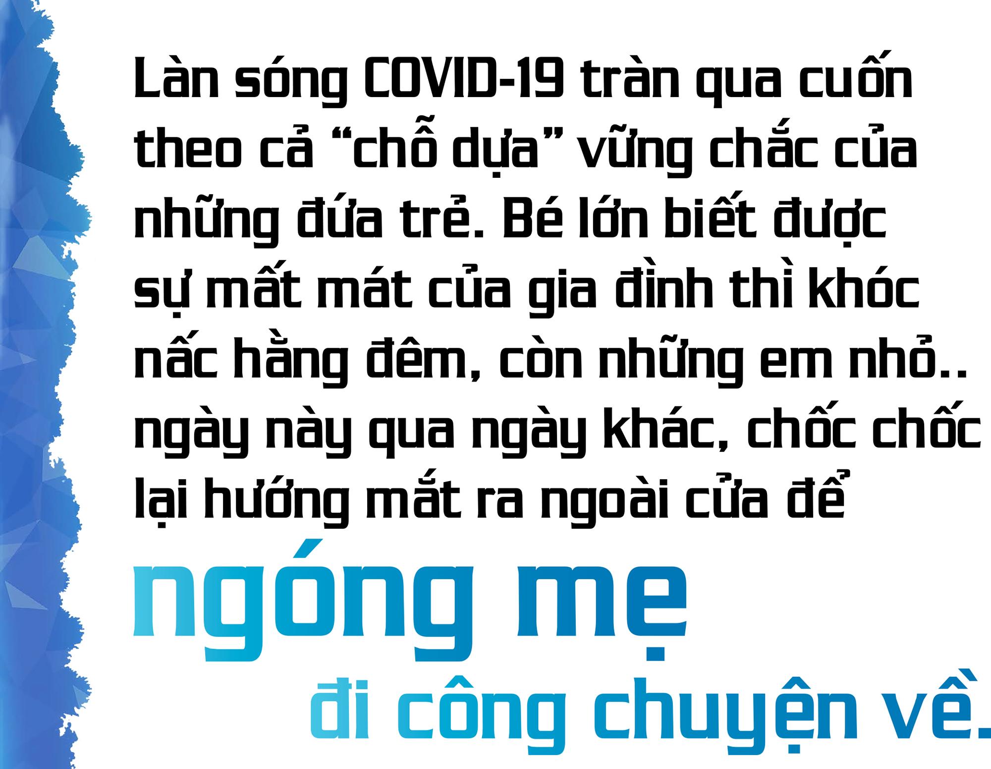 Đai dịch khốc liệt tại TP Hồ Chí Minh 1: Quặn lòng những đứa trẻ chờ mẹ trong tuyệt vọng - Ảnh 1.