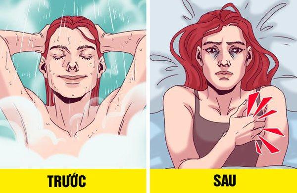 Tắm khuya và những hệ lụy với sức khỏe - Ảnh 3.