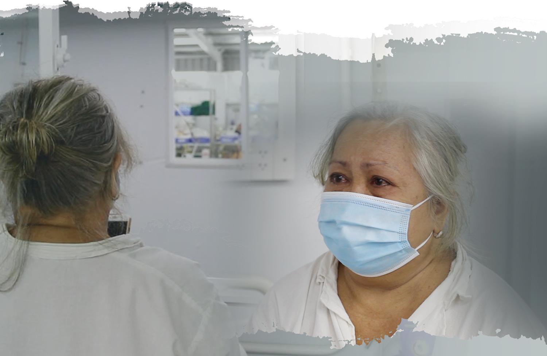 Chuyện những cụ bà đơn độc trong tâm dịch COVID-19 - Ảnh 3.