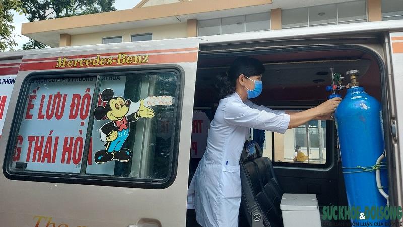 Trạm y tế lưu động - thiết thực với người dân vùng có dịch - Ảnh 1.