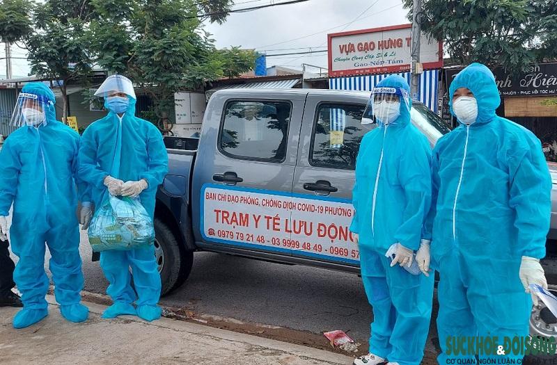 Trạm y tế lưu động - thiết thực với người dân vùng có dịch - Ảnh 4.