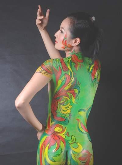 Nghệ thuật body painting, đẹp hay dung tục? 2
