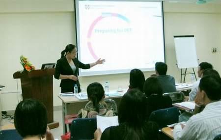 Rà soát trình độ giảng viên ngoại ngữ 1
