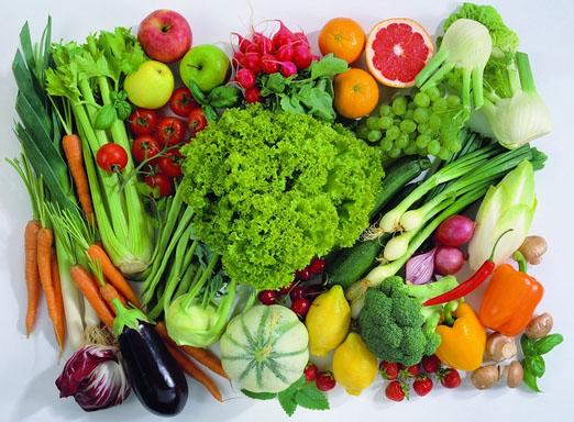 Người tăng huyết áp cần ăn nhiều rau củ.