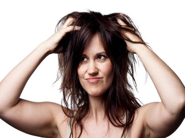Bước 2: Massage da đầu