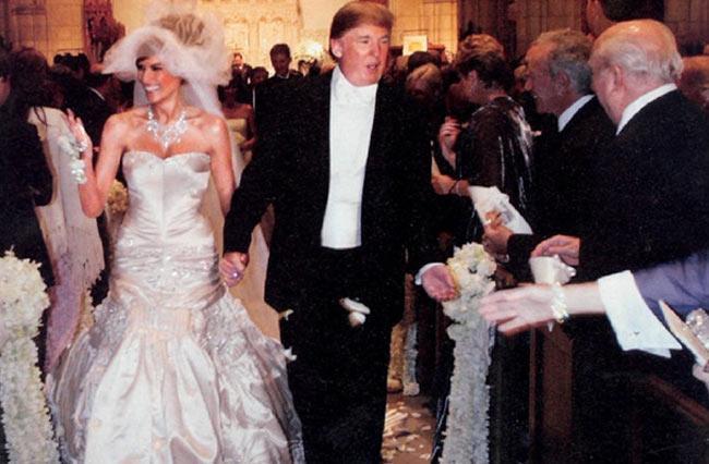 đám cưới Melania - Donald Trump