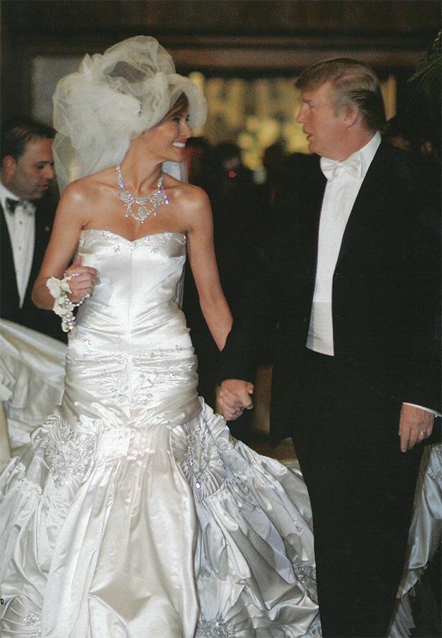 Con đường đi tới ngôi vị Đệ nhất phu nhân của siêu mẫu Melania Trump