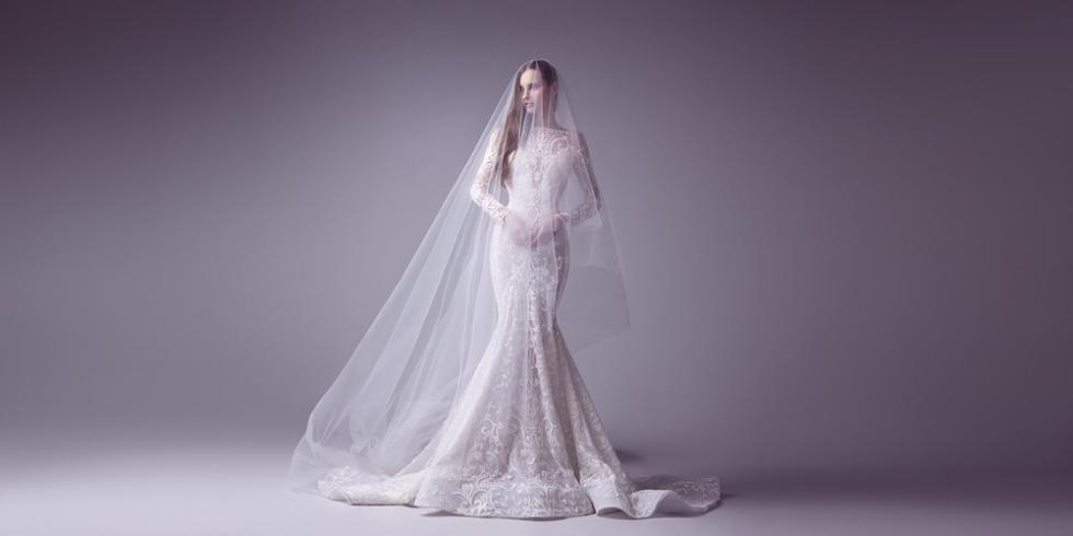 Váy cưới mùa đông lấy cảm hứng từ Đệ nhất phu nhân Melania Trump